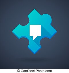Puzzle piece icon with a tooltip