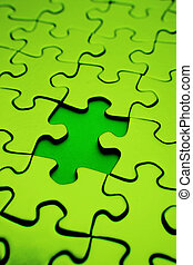 Puzzle  - Piece missing from jigsaw puzzle