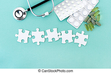 Puzzle pieces for lettering - Puzzle pieces in row for ...