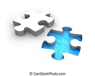 Puzzle pool