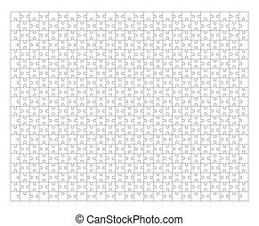 puzzle, puzzle, cadre