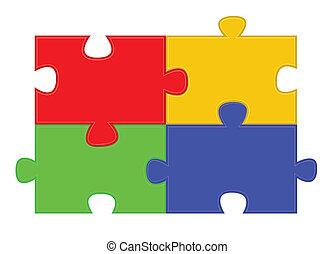 puzzle, puzzle, parties