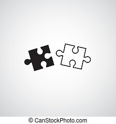 puzzle, puzzle, symbole