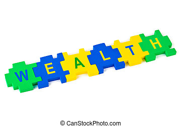 puzzle, richesse