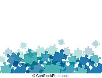 puzzle solution team work image