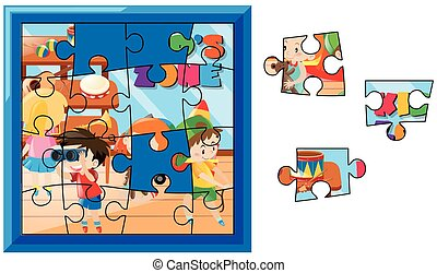 Puzzle Spiele Kinder