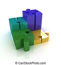 puzzle., the, 概念, ......的, 成長