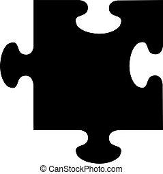 puzzle, vecteur
