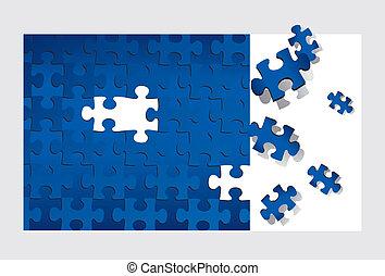 Puzzle (vector)