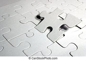 puzzle, vide