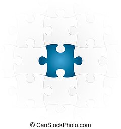 puzzle with special part