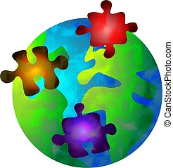 puzzle world - world full of puzzles