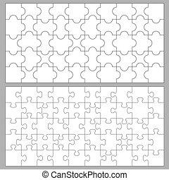 puzzles, 50, morceaux