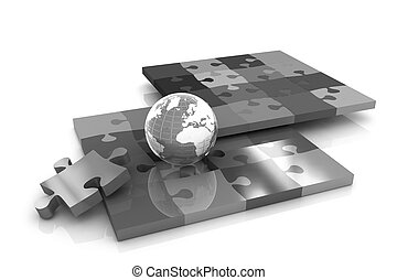 Puzzles and earth