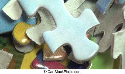 Puzzles, Puzzle Pieces, Children's Toys