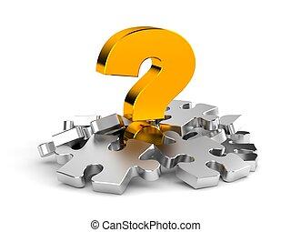 puzzles, question
