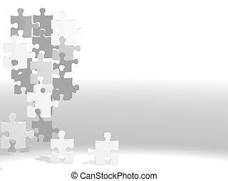 puzzles, voler