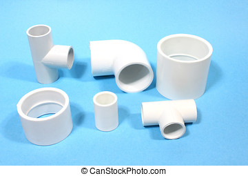 pvc, fittings