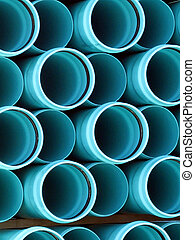 PVC pipe ends