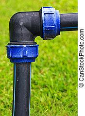 PVC pipe plastic pipeline