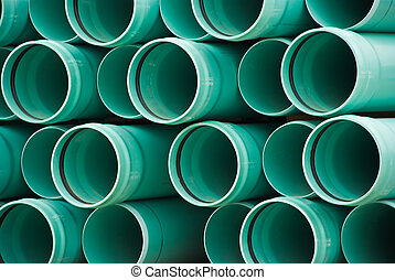 PVC pipe - stacked pvc pipe
