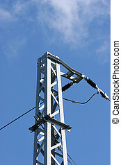 pylône, électricité