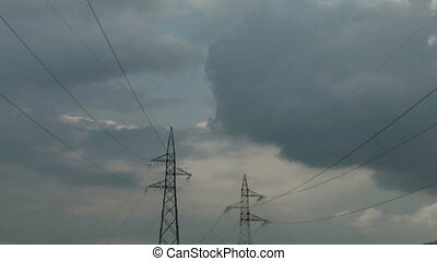 pylon 02 - High voltage power line