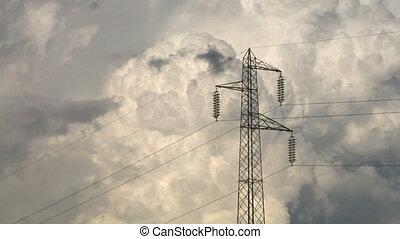 pylon 03 - High voltage power line