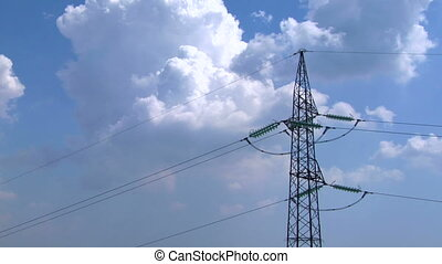 pylon 04 - High voltage power line