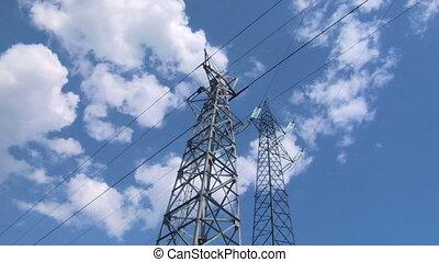 pylon 05 - High voltage power line