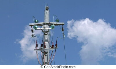 pylon 06 - Power line