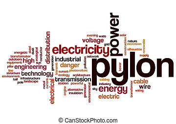 Pylon word cloud