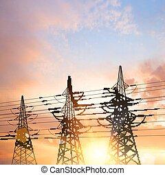 pylons., elektryczny