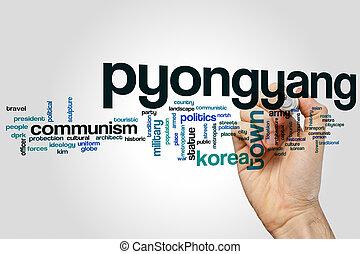 pyongyang, 単語, 雲