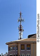pyrénées, tour, télécommunications