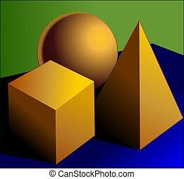 pyramid block