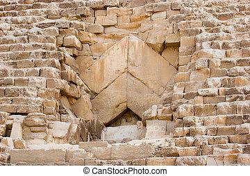 Pyramid closeup