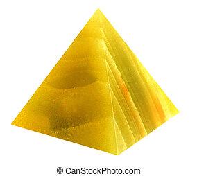 Pyramid from a gemstone