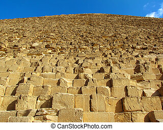 pyramid in Giza (Egypt)