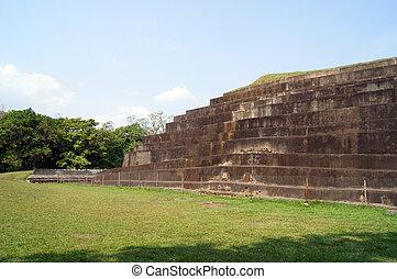 Pyramid in Tazumal