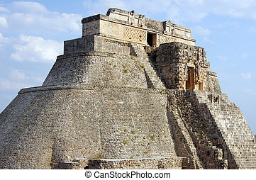 Pyramid in Uxmal