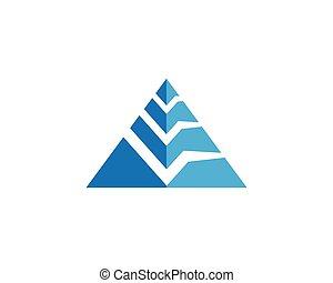 Pyramid Logo Template