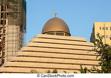 Pyramid Mosque in Kuwait City, Middle East