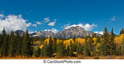 Pyramid Mountain, Canada - Pyramid Mountain, Jasper National...