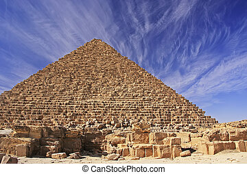 Pyramid of Menkaure, Cairo, Egypt