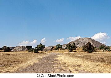 Pyramid of the Sun. Teotihuacan.