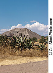 Pyramid of the Sun. Teotihuacan