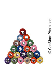 pyramid of threads (45 degrees)