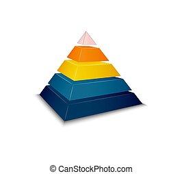 Pyramid Realistic Illustration