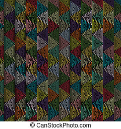 pyramidal - new seamless pattern with colorful ornament can...